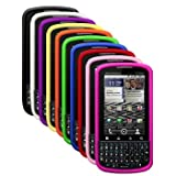 Ten Silicone Skins / Cases / Covers for Motorola Droid Pro / XT610 - Black, White, Purple, Yellow, Orange, Green, Blue, Red, Light Pink, Hot Pink