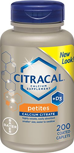 Citracal Petites with Vitamin D3, 200-Count
