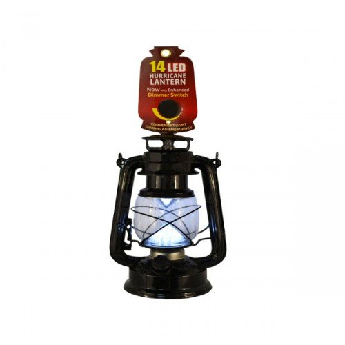 14 Led Hurricane Lantern (Bulk-Buy)