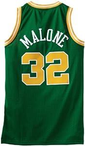 NBA Utah Jazz Green Swingman Jersey Karl Malone #32 by adidas