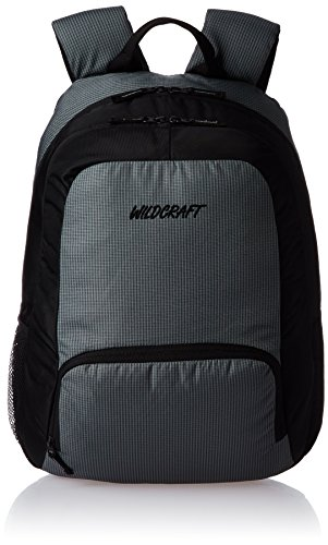 Wildcraft Neptune Grey Black Trendy Back Pack