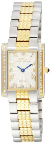 Daniel Steiger Women's 6002-L Sienna Swiss Quartz  Two-Tone Diamond Watch