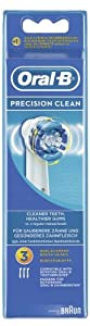 Oral-B Precision Clean Electric Toothbrush Replacement Heads - Pack of 3