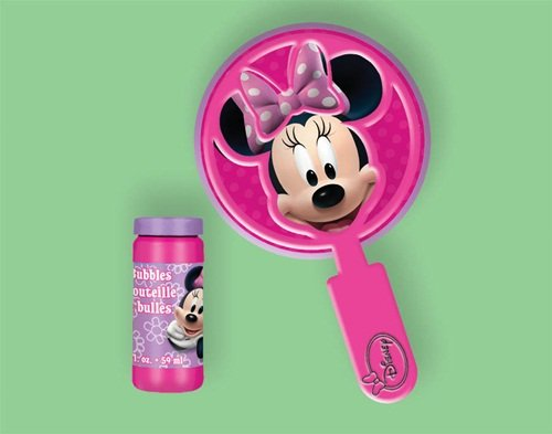 Minnie Mouse Bubble Wand Set - 1