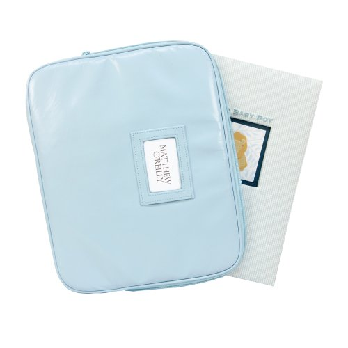 C.R. Gibson Memory Book Keepsake Case, Blue - 1