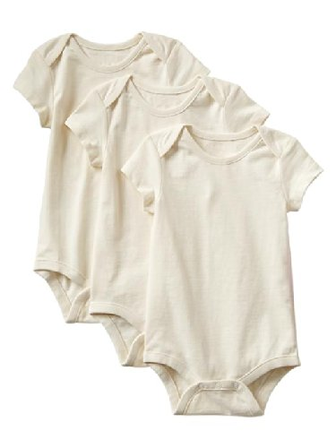Gap Baby Organic Bodysuit 3 Pack Size Up To 7Lb