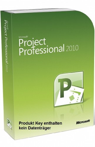 Microsoft Project 2010 Professional Vollversion deutsch 1PC (ohne Datenträger), PC