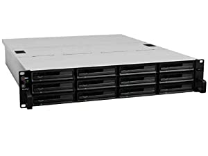 Synology NAS-System (12-Bay, 2,13GHz, SATA II/III, 1x USB 2.0, 2x USB 3.0)