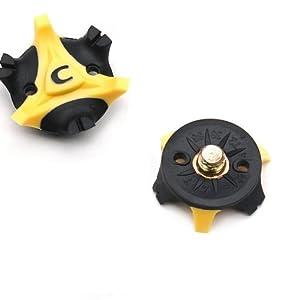 Homgaty 16Pcs Golf Shoe Spike Cleat Champ Studs Stinger Replacement