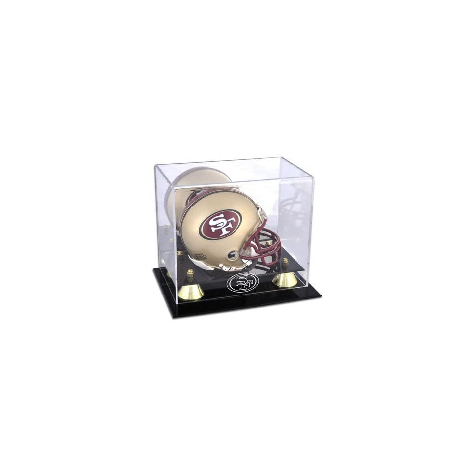 San Francisco 49ers Deluxe Mini Helmet Display Case