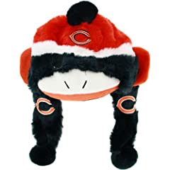 NFL Chicago Bears Sock Monkey Hat by Forever Collectibles