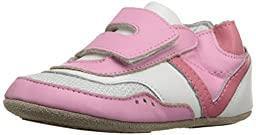 Robeez Sporty Steph Hard Sole Mini Shoe (Infant), Prism Pink, 12-18 Months M US