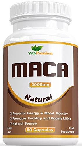 maca wurzel kapseln 2000mg sehr starkes extrakt 60. Black Bedroom Furniture Sets. Home Design Ideas