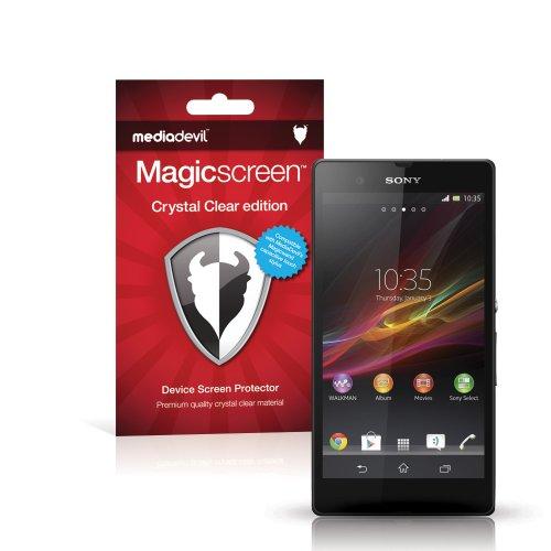 MediaDevil Sony Xperia Z (2013) Pellicola Protettiva: Crystal Clear (Invisibile) - (2 x Pellicole Frontali) Magicscreen