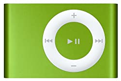 Apple iPod shuffle 1 GB Bright Green (2nd Generation) OLD MODEL