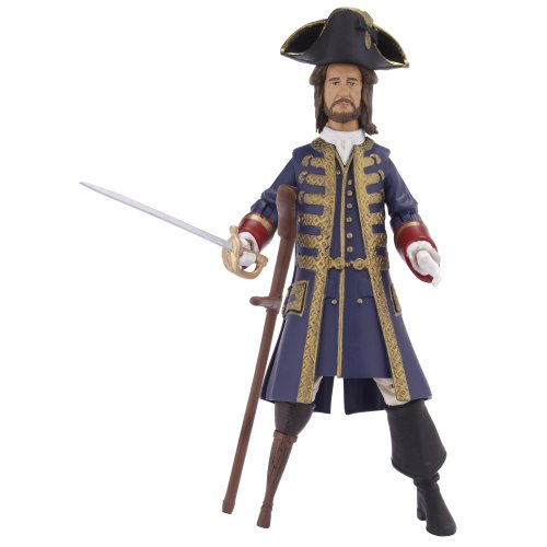 Pirates Of The Caribbean Basic Figure Wave #1 Barbosa Secret Reveal - 1
