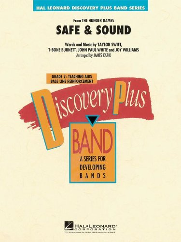 Hal Leonard Safe & Sound (From Hunger Games) - Discovery Plus Concert Band Series Level 2 (Standard)