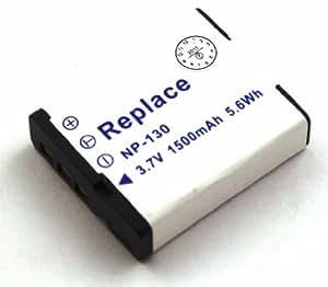 Batterie compatible pour Casio Exilim EX-10, EX-10BE, EX-FC300S, EX-FC400, EX-FC400S, EX-H30, EX-H30BK, EX-H35, EX-ZR100, EX-ZR1000, EX-ZR1000BK, EX-ZR1000RD, EX-ZR1000WE, EX-ZR100BK, EX-ZR100WE, EX-ZR1100, EX-ZR1100BK, EX-ZR1100VP, EX-ZR1100WE, EX-ZR1100YW, EX-ZR1200, EX-ZR1200BK, EX-ZR1200VP, EX-ZR1200WE, EX-ZR1200YW, EX-ZR200, EX-ZR200BE, EX-ZR200BK, EX-ZR200RD, EX-ZR200WE, EX-ZR300, EX-ZR300GD, EX-ZR300RD, EX-ZR300WE, EX-ZR310, EX-ZR310BK, EX-ZR310GD, EX-ZR310RD et d'autres modèles