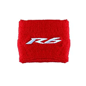 Yamaha R6 Clutch Reservoir Sock Cover Available in Black/Blue, Black/Red and Black/Gray. Fits YZF-R6, R6
