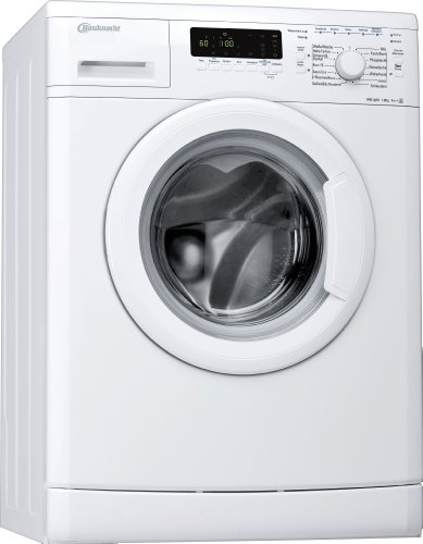 Bauknecht WA PLUS 844 A+++ Waschmaschine Frontlader / A+++ B / 1400 UpM / 8 kg / Weiß / Smart Select / Jeans Programm / Big window /unterbaufähig
