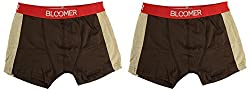 Bloomer Clothings Men Cotton Trunk (style_3038_2BR_XL, Brown, XL) (Pack of 2)