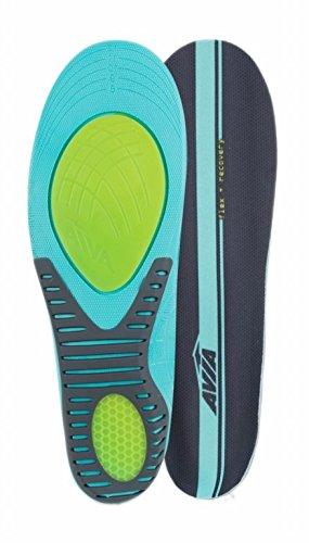 Avia Flex Recovery Anti Fatigue All Day Comfort Men's Insole, Size 8 - 12 - Ergonomic Memory Foam Countouring for Superior Arch Support
