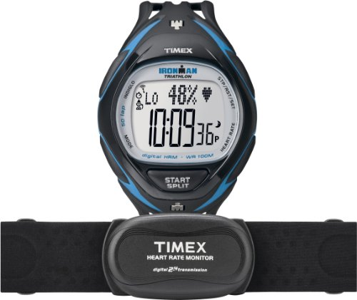 Cheap Timex Men's T5K567 Ironman Race Trainer Heart Rate Monitor Watch (T5K567F5)
