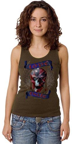 Shirtmatic -  T-shirt - Donna Tank Top oliv (army) s