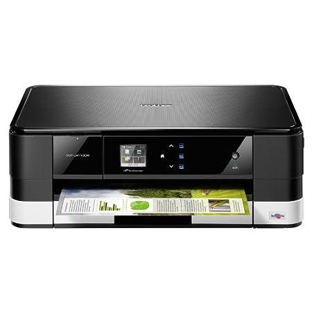 Brother DCP-J4110DW All-in-One Multifunktionsgerät (Farbdrucker, Scanner, Kopierer, USB 2.0) schwarz/weiß