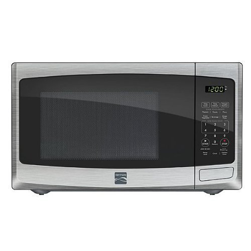 Kenmore 0.9 cu. ft. Countertop Microwave Stainless Steel 73093 by Kenmore