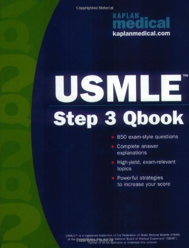 Kaplan Medical USMLE Step 3 Qbook (Kaplan USMLE Qbook) (Step 3 Qbook compare prices)