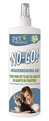 Pet Organics (Nala) DNB04016 No-Go Housebreaking Aid Dog Spray, 16-Ounce