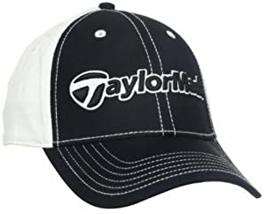 TaylorMade TM Original Cap (Black/White, Small/Medium)