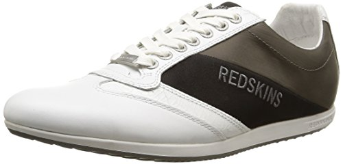 RedskinsSandoz - Sneaker Uomo , Bianco (Blanc (Blanc/Anthracite/Noir)), 43