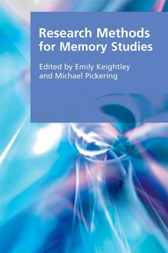 Research Methods for Memory Studies (Research Methods for the Arts and Humanities)