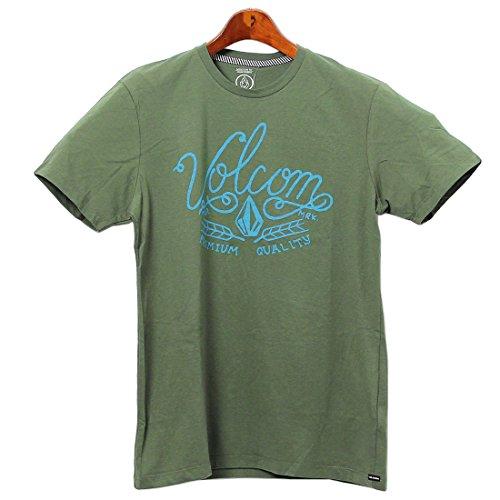 ヴォルコム VOLCOM レッジーラ 半袖 Tシャツ クルーネック メンズ 02.シダーグリーン M [並行輸入品]