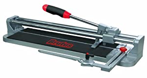 QEP 10552 20 Inch Professional Tile Cutter with 7/8 Inch Cutting Wheel, Ball Bearing Slides and Adjustable Rip Guide