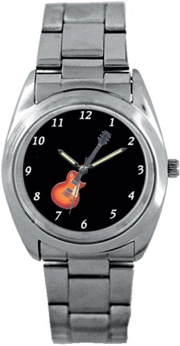Music Treasures Tag-Like Sports Electric Guitar Watch