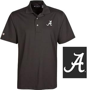NCAA Alabama Crimson Tide Mens Downings Polo Shirt by Oxford