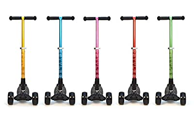 Buy 3Style Scooters® RGS-3 Tilt Kick board Mini T-Bar 3 Wheel Scooter Heavy Duty Wheels