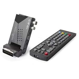 Mini décodeur TNT pour TV Compatible avec la TNT HD: High