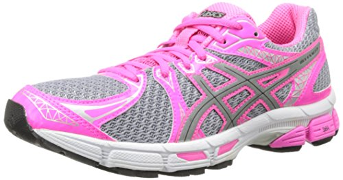 ASICS Women's Gel-Exalt 2 Lite-Show Running Shoe,Lightning/Silver/Hot Pink,8 M US