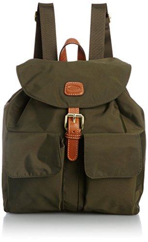 Brics X-Travel Zaino Olive 27x27x13