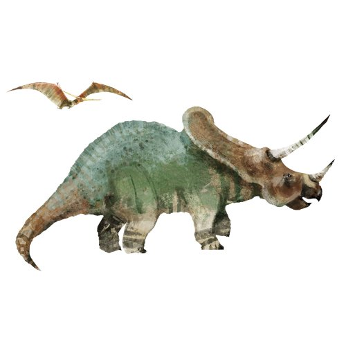 Roommates Rmk1881Gm Dinosaur Peel And Stick Giant Wall Decal front-1018244