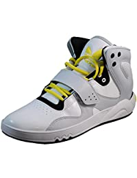 Adidas Roundhouse Mid Men's Shoes In Running White/Clear Grey/Black