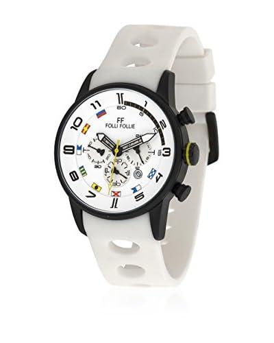Folli Follie Reloj WT1Y001ZEY Blanco