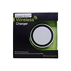 GadgetGuru Qi-01 Wireless Charger Charging Pad for QI compatible phones & tablets
