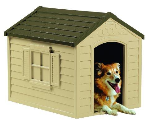 [サンキャスト]小・中型犬用ドッグハウス プラスチック製犬小屋