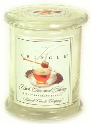BLACK TEA and HONEY Medium Classic 50 Hour Apothecary Jar by Kringle Candles