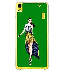 Girl on Ramp 2D Hard Polycarbonate Designer Back Case Cover for Lenovo K3 Note :: Lenovo A7000 Turbo